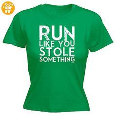 Fonfella Slogans Damen T-Shirt, Slogan Grün Kelly Green Medium - Shirts mit spruch (*Partner-Link)
