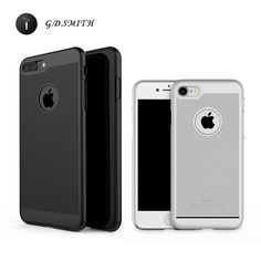 G.D.SMITH Ultra Thin Cover Case For iPhone 7 7 Plus Breathable Cell Phone Fundas With Package 2016 New #clothing,#shoes,#jewelry,#women,#men,#hats,#watches,#belts,#fashion,#style