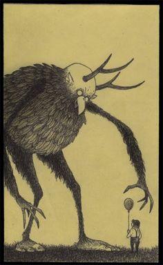 John Kenn's post-it note art
