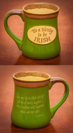 Irish Blessing Mug - 'Tis a Blessing