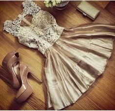 champagne tulle lace short prom dress for teens, unique short prom gown, plus size short bridesmaid dress 2016