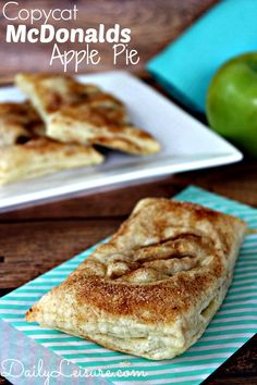 Copycat McDonalds Apple Pie Recipe #recipe #apple