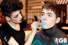 Bodypainting at the Clothes Show Live!