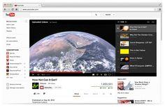 Youtube estrenó su nuevo diseño, con un aspecto más sencillo, minimalista y pulido.