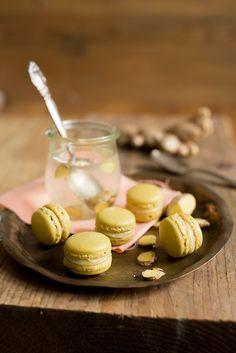 Ingwer-Honig-Macarons backen kekse-platzchen macarons weihnachten Französisch Kochen by Aurélie Bastian