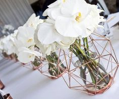 Geometric Centrepiece Styling Concept Centrepieces Table - Coloring Page Ideas Modern Centerpieces, Wedding Table Centerpieces, Wedding Decorations, Hurricane Centerpiece, Wedding Deco Ideas, Flower Centrepieces, Terrarium Centerpiece, Table Flowers, Centerpiece Ideas