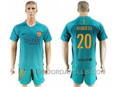 http://www.nikejordanclub.com/barcelona-20-roberto-sec-away-soccer-club-jersey.html BARCELONA #20 ROBERTO SEC AWAY SOCCER CLUB JERSEY Only $20.00 , Free Shipping!