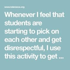 Whenever I feel that students are starting to pick on each other and get disrespectful, I use this activity to get them to think about their behavior. For this activity, you need a tube of toothpaste, a four-by-six index card, a marker, a popsicle stick and a toothpick.