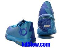 KD 6 Womens Dynamic Blue Current Blue 599424 810 Kevin Durant Basktball Shoes