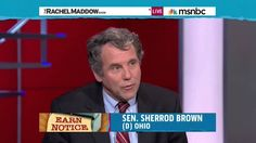Senator Brown and Rachel Maddow discuss Social Security expansion