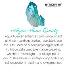 Aqua Aura Quartz Crystal Meaning