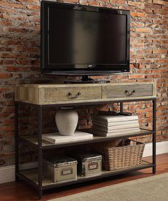 Another great find on #zulily! HomeBelle Albatross Media Console by HomeBelle #zulilyfinds
