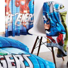 'Avengers Assemble' Collection Fleece Throw for $24.99