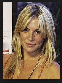 side swept bangs with layers | layers with side swept bangs | For more inspiration on long layered ...