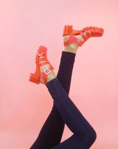 Coming Soon! The Clear Pink Juju Jelly Sandals!