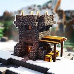 Minecraft Starter House, Minecraft Building Guide, Minecraft Plans, Minecraft Tutorial, Minecraft Blueprints, Lego Minecraft, Minecraft Crafts, Minecraft Mobile, Building Ideas