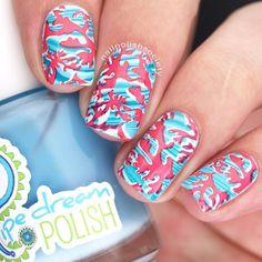 Nail Polish Society>> UberChic Beauty Nautical Mini Stamping Plate Review