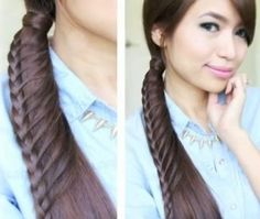 """This is called a """"ladder braid""""...LOVE IT!"""