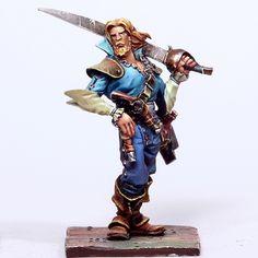 Pirates atteinte//pirates rebel 15mm metal miniature