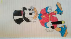 Scroodge mcduck from ducktales remastered