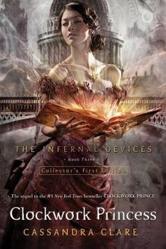 Clockwork Princess - The last book in the Infernal Devices trilogy. So exciting, so heartbreaking, so romantic! You will need a box of tissues and enough time to read it without having to put it down!