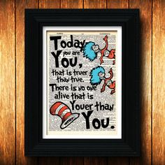 Nursery Art - Dr Seuss Thing 1 Thing 2 quote, Baby, Children book, kids, unique, baby shower, twins, baby shower gift, Dr. Seuss art, print.