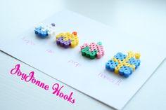 JoyJonne Hooks: Strijkkralen (hert & kaart)/ Colourful beads (deer & card)