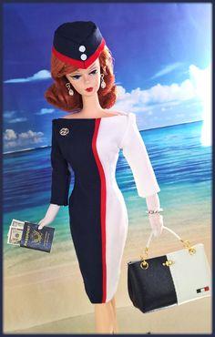 "OOAK Fashions for Silkstone / 12"" Fashion Royalty / Vintage barbie - With Zipper   eBay"