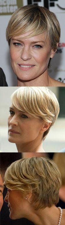 Robin Wright. My summer hairstyle?