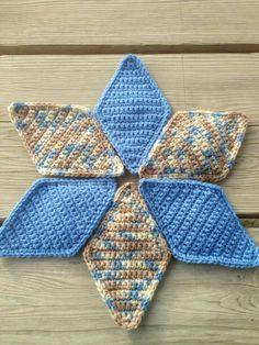 Crochet quilt pattern, stash buster, love it!