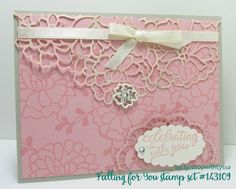 Falling in Love suite Stampin Up Shop with Lyssa Song of My Heart Stampers cardmaking supplies