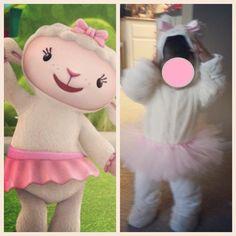 My daughter's Lambie costume! #lambie #docmcstuffins #diy #disneyjr #disney #lamb