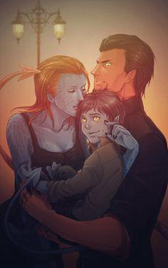 Must people don't know but Mystique & Azazel are Nightcrawler's parents. #Xmen