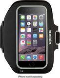 Belkin - Sport-Fit Plus Armband for Apple® iPhone® 6 Plus & 6s Plus - Black