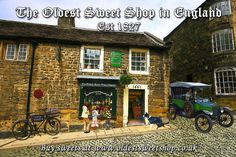 The Oldest Sweet Shop in England, Pateley Bridge launches new wesbite!