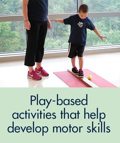 "Your kids won't even know they're ""exercising!"" Great ways to strengthen your child's motor skills and gross motor skills."