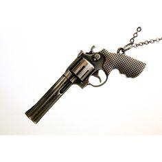 Gun Necklace -  ($42)