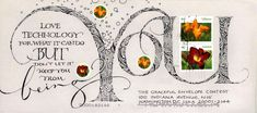 "Betty Locke ""being YOU"" - 2013 Graceful Envelope Contest . #mailart #snailmail…"