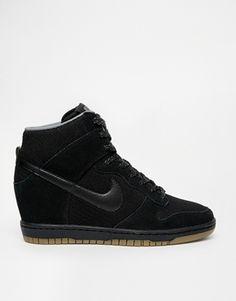 Nike Wmns Dunk Sky Hi Essential Black Gum Med Brown I96a9126
