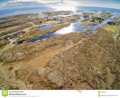 Fishing Village, Around Rocky Terrain Covered With Grass - Download From Over 59 Million High Quality Stock Photos, Images, Vectors. Sign up for FREE today. Image: 92209761