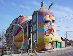 Snail house, Bulgaria