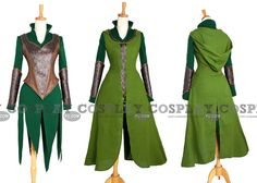Tauriel Costume | Tauriel Cosplay from The Hobbit The Desolation of Smaug free shipping ...