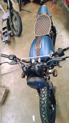 Boxer Bajaj 150 custom scrambler