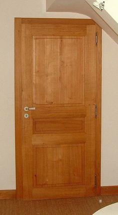 Porte vitr e 4 carreaux bois chaleureux et d coratif for Porte interieure arrondie bois