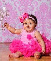Park Avenue Pink Baby Headband