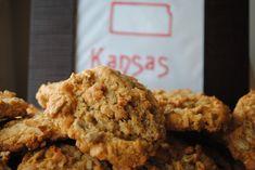Sweet State of Mine: Kansas - Sunflower Seed Cookies