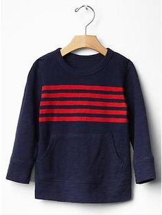 Engineer stripe pocket tee | Gap