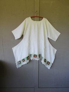 Original design/Eco upcycled clothing/Artsy by lillienoradrygoods, $98.50