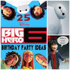 25 big hero 6 birthday party ideas. Don't keep searching the internet, your search starts and ends here! Fantastic, fun and budget friendly big hero 6 ideas
