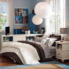 Paint Ideas For Girly Room Cool And Funky Teen Room